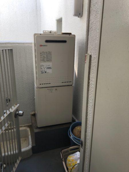 千葉県柏市 給湯器交換工事 ノーリツGT-1628SAWX⇒リンナイRUF-A2005SAW(A)