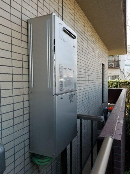 東京都葛飾区 給湯器交換工事 リンナイRUFH-VD2400SAW2-3⇒リンナイRVD-E2405SAW2-3