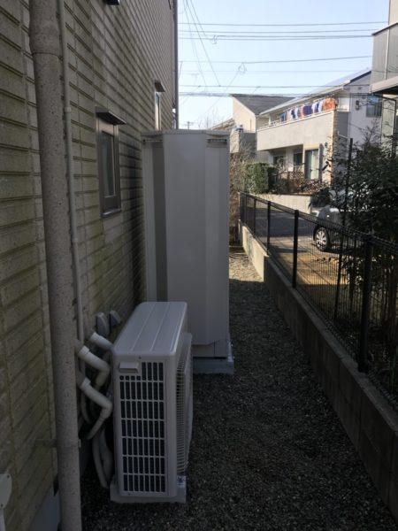 千葉市緑区 給湯器からエコキュート交換工事 日立『BHP-F37RU』