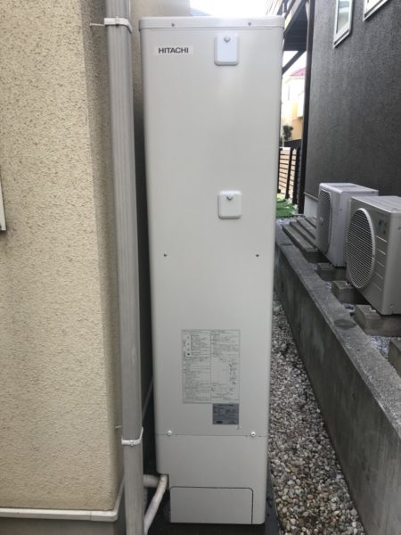 横浜市港北区 エコキュート交換工事 コロナエコキュート⇒日立『BHP-FS37RH1』