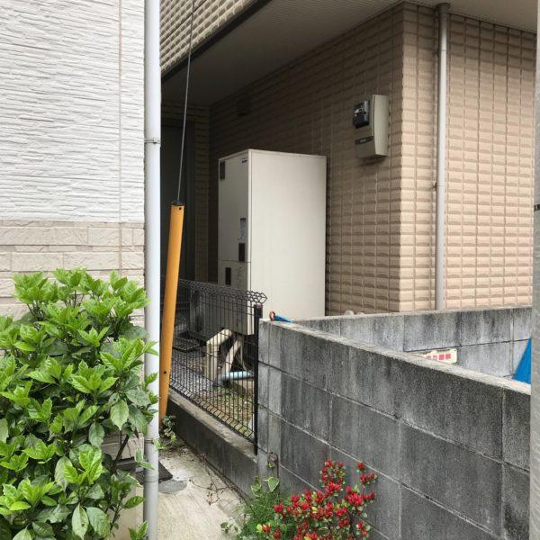 神奈川県海老名市 エコキュート交換 日立370Lフルオート⇒ダイキン『EQ-37TFV』