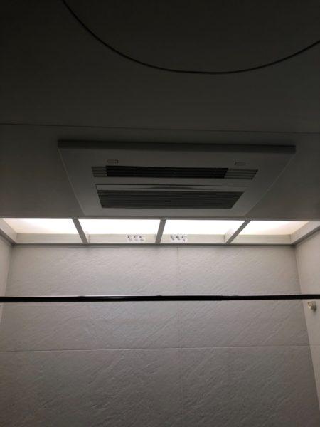東京都江東区 温水式浴室暖房換気乾燥機交換 東京ガスABD-3239ACSK-J3⇒ノーリツ『BDV-4104AUKNC-J3』