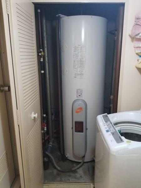 千葉県我孫子市 電気温水器交換工事 日立『BE-4770-LEM』⇒日立『BE-L46E』