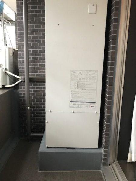 オール電化マンションのエコキュート交換 『コロナXVBET-3014AP』 千葉県市川市