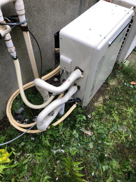 藤沢市でガス給湯器交換 ノーリツ『GRQ-2016SAX』⇒リンナイ『RUF-A2003SAG』