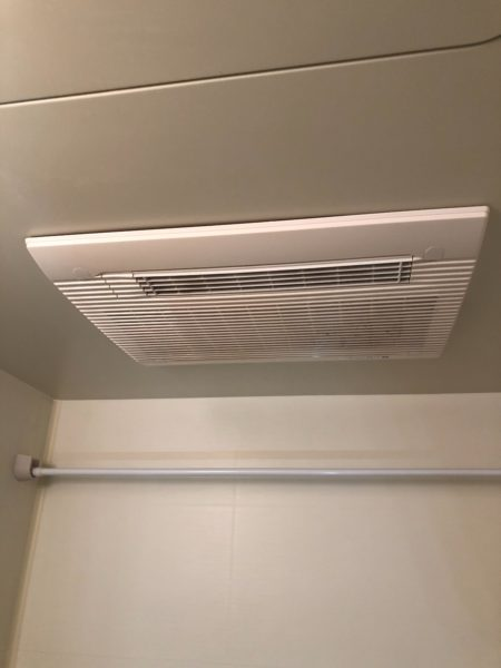 横浜市中区 浴室暖房換気乾燥機交換 マックス『BS-102HM-1』⇒『BS-132HM』