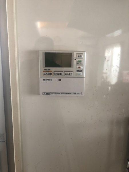 長野県上田市でエコキュート交換工事 三菱『SRT-HP37W1』→日立『BHP-F37RU』