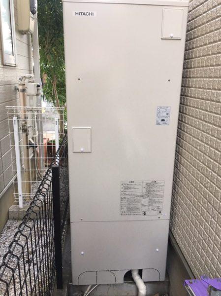 滋賀県長浜市でエコキュート交換工事 SANYO『エコキュート』→日立『BHP-F37RU』