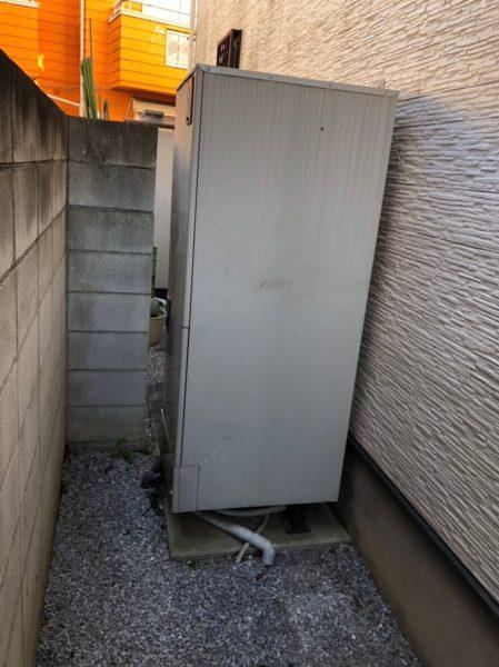 広島県東広島市でエコキュート交換工事 日立『BHP-F37GU』→日立『BHP-F37RU』