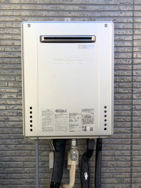 兵庫県姫路市でガス給湯器交換工事 ノーリツ『GT-2022SAWX』→ノーリツ『GT-C2062SAWX BL』