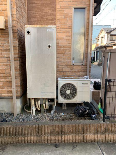 岡山県倉敷市でエコキュート交換工事 日立『SRT-HP37W1』→日立『BHP-F37RU』