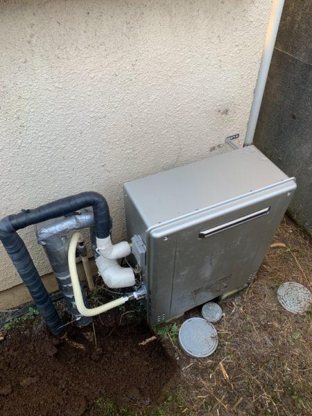 広島県尾道市でガス給湯器交換工事 ノーリツ『GRQ-2022SAX』→ノーリツ『GT-C2062SARX BL』