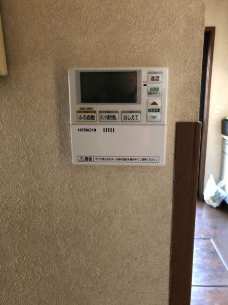 兵庫県西宮市でエコキュート交換工事 SANYO『SHP-T37G』→日立『BHP-F37RU』