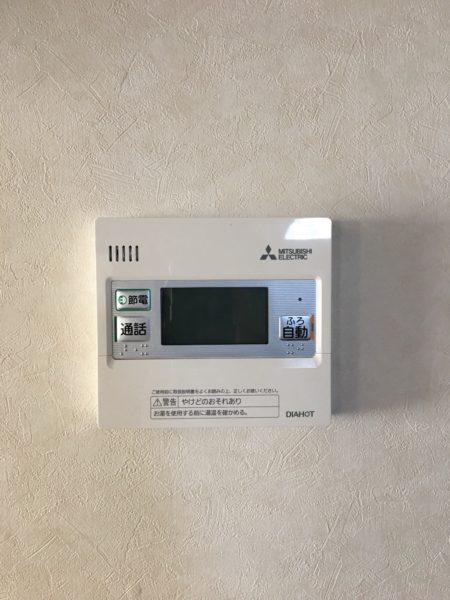 東京都八王子市で電気温水器からエコキュート交換工事 ナショナル『DH-46G2SUB』→三菱『SRT-C374』