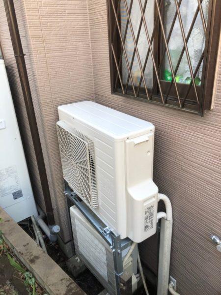 山梨県富士吉田市でエコキュート交換工事 ダイキン『EQ37EFTV』→日立『BHP-FS37RH1』
