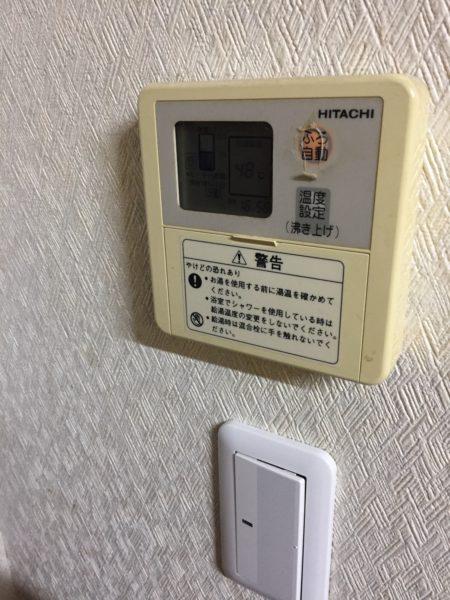 兵庫県伊丹市で電気温水器からエコキュート交換工事 日立『BEB-5670-BFAWU』→日立『BHP-F46RD』