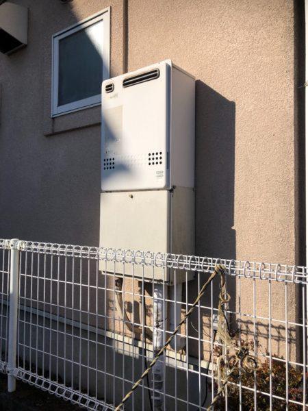 広島県三原市で給湯器からエコジョーズ交換工事 ノーリツ『GT-2428SAWX LPG』→リンナイ『RUF-E2405SAW(A) LPG』