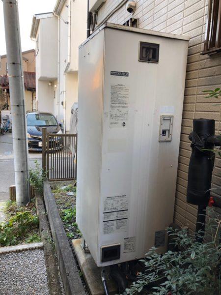 埼玉県草加市でエコキュート交換工事 三菱『SRT-HP373WF』→日立『BHP-FS37RH1』