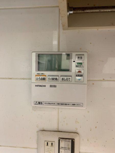 奈良県橿原市でエコキュート交換工事 ナショナル『HE-37K2Q』→日立『BHP-F37RU』