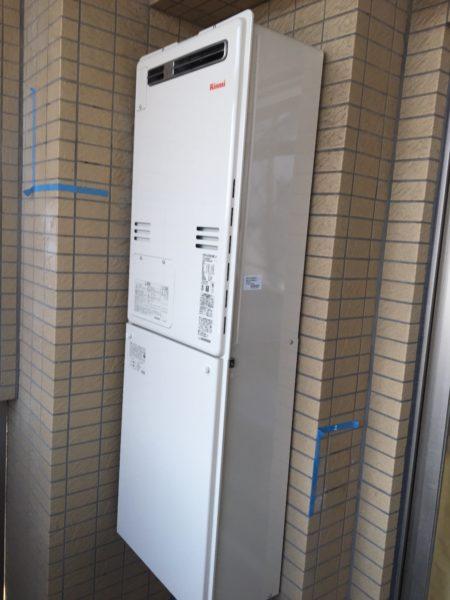 東京都板橋区でガス給湯暖房熱源機交換工事 リンナイ『IT-4201ARS-AW3Q』→リンナイ『RUFH-A2400AW2-3』