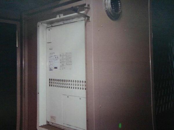 広島県竹原市でガス給湯暖房熱源機交換工事 ノーリツ『FT368RSA9-AW6Q(GTH-2413AWXH-H)』→ノーリツ『GTH-2444AWX3H-H-1 BL』