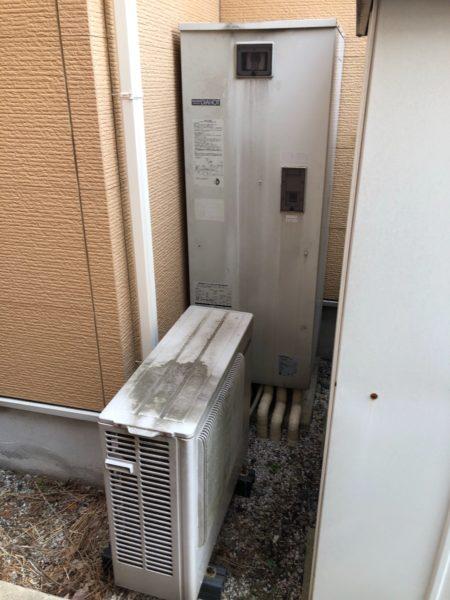 神奈川県相模原市緑区でエコキュート交換工事 三菱『SRT-HP372WF』→日立『BHP-F37RU』