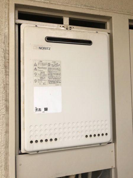 愛知県豊橋市で給湯器交換工事 ノーリツ『GT-2027SAWX』→ノーリツ『GT-2060SAWX BL』