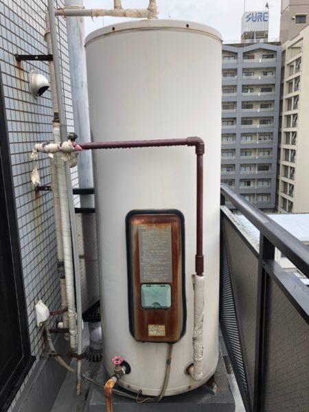 神奈川県横浜市鶴見区で電気温水器交換工事 パナソニック『DH-3766M』→三菱『SRG-375E』