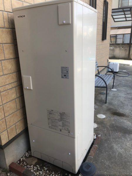 千葉県成田市でエコキュート交換工事 日立『HHP-T371HAT』→日立『BHP-F37RU』