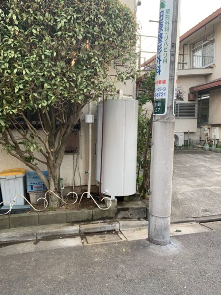 東京都葛飾区で電気温水器交換工事 東芝『HPL-TL374RM』→三菱『SRG-375E』