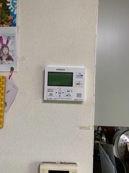 茨城県土浦市でエコキュート交換工事 日立『BHP-TD301』→日立『BHP-FS37RH1』