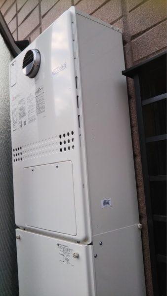 大阪府堺市でガス給湯暖房熱源機交換工事 ノーリツ『GTH-2413AWXD』→ノーリツ『GTH-C2451AWD-1BL』