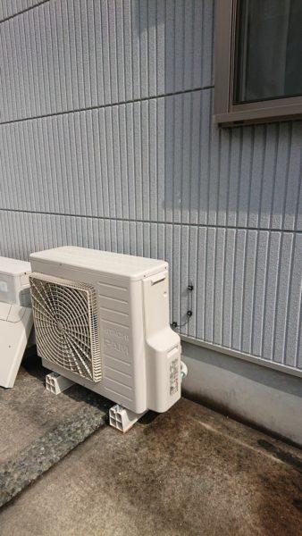 大阪府大阪狭山市で電気温水器からエコキュート交換工事 東芝『NPL-2TFB465SRAU』→日立『BHP-F46RD』