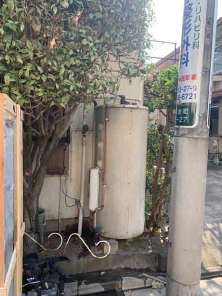 東京都葛飾区で電気温水器交換工事 東芝『HPL-TL374RM』→三菱電機『SRG-375E』