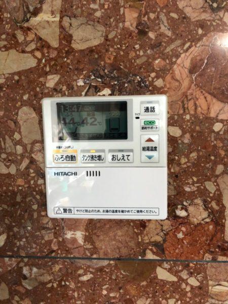 埼玉県熊谷市でエコキュート交換工事 コロナ『370Lフルオート』→日立『BHP-F37RD』