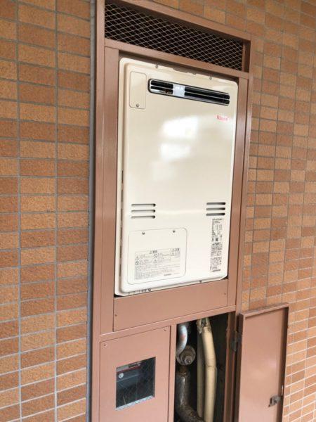 東京都港区でガス給湯暖房用熱源機交換工事 ノーリツ『GTH-2413AWXH』→リンナイ『RUFH-A2400AW2-3』
