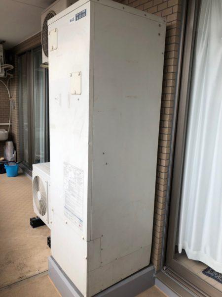 千葉県浦安市でエコキュート交換工事 『XVBET301AP』→コロナ『CHP-S30AY2』