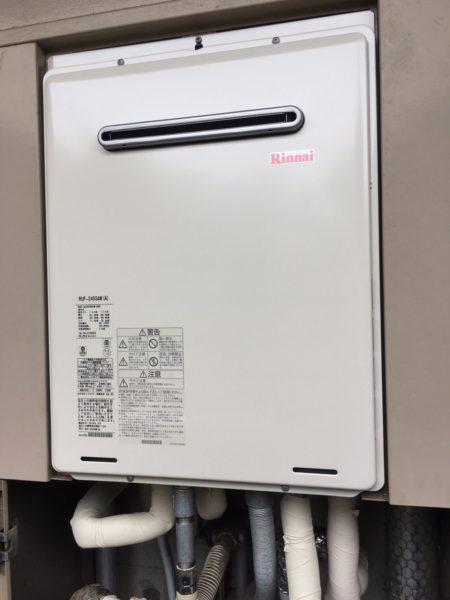 千葉県船橋市でガス給湯器交換工事 ノーリツ『GT-2400SAW』→リンナイ『RUF-A2405SAW』