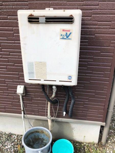 東京都八王子市でガス給湯器交換工事 リンナイ『RUF-V2401SAW』→リンナイ『RUF-A2405SAW』
