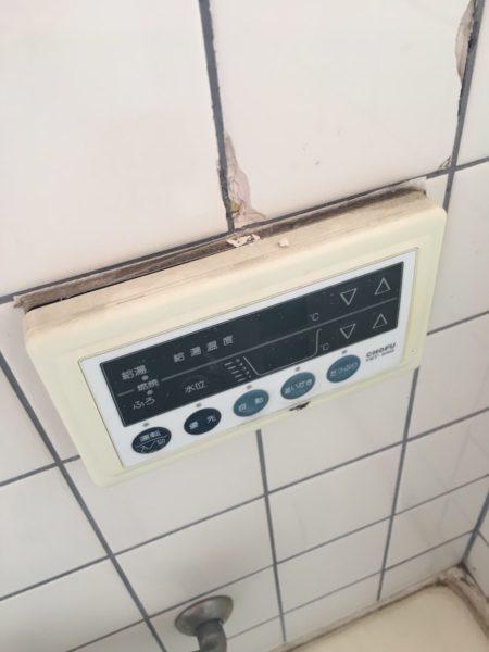 東京都港区でガス給湯器交換工事 長府『GFK-1691PKA』→リンナイ『RUX-A1615W-E』