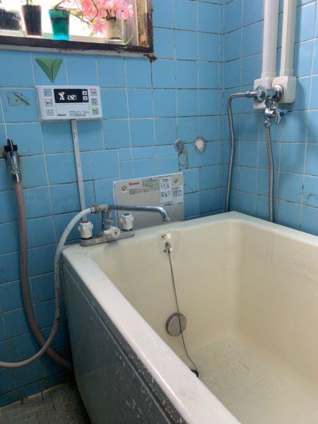 神奈川県横浜市磯子区でガス給湯器交換工事 リンナイ『RUF-HV81SA』→リンナイ『RUF-HV82SA-E』