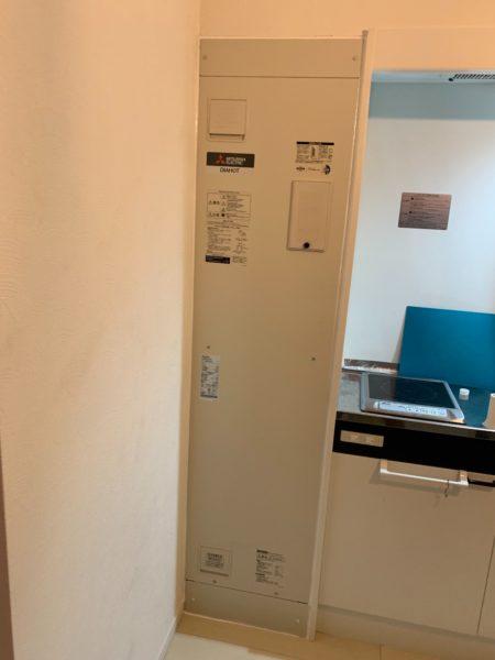 東京都品川区で電気温水器交換工事 三菱『DH-1501D』→三菱『SRG-151E-R』