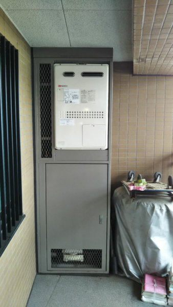 東京都板橋区で給湯暖房用熱源機交換工事 ノーリツ『GTH-2444AWX3H-1』
