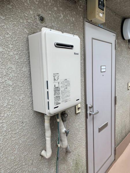 東京都港区でガス給湯器交換工事 東京ガス『NR-510RFW』→リンナイ『RUX-A1615W-E』
