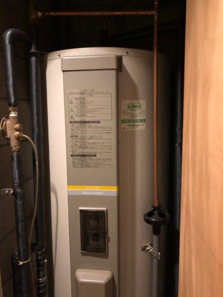 埼玉県狭山市で電気温水器交換工事 タカラスタンダード『ED-3712ES』⇒三菱『SRG-305E』