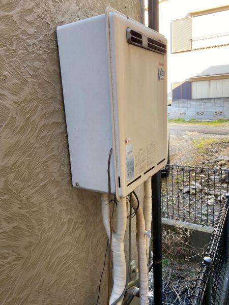 板橋区 リンナイ給湯器交換¥106,800円『RUF-V2000SAW-1』⇒『RUF-A2005SAW(B)』