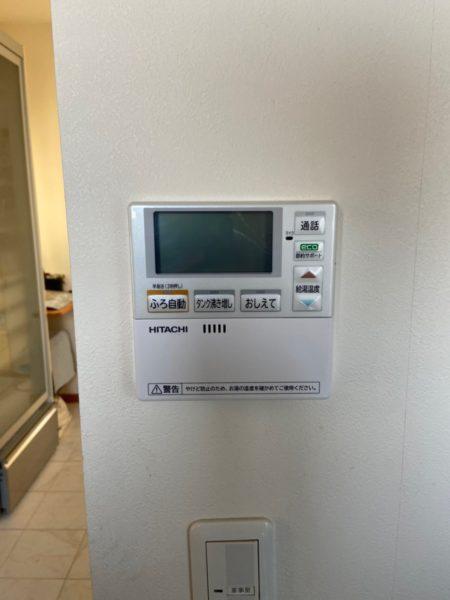 千葉市のエコキュート交換工事費込み¥320,000円 ナショナル『HE-37K3Q』⇒日立『BHP-F37SU』