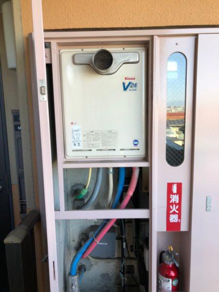 鎌倉市 リンナイ給湯器交換工事込み¥130,000円『RUF-V2400SAT-1』⇒『RUF-A2405SAT-L』