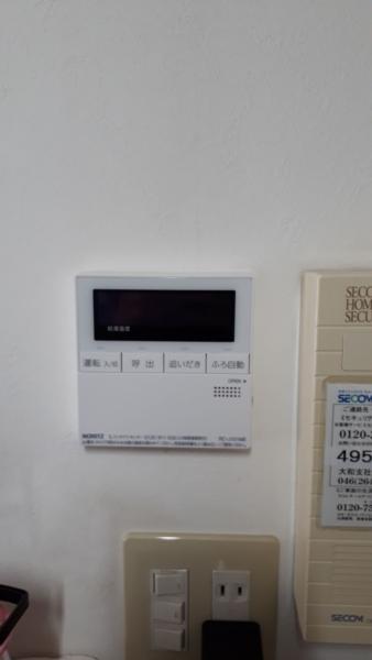 大和市 ノーリツガス給湯器交換工事費込み¥148,000円 『GT-2422SAWX』⇒『GT-C2462SAWX』