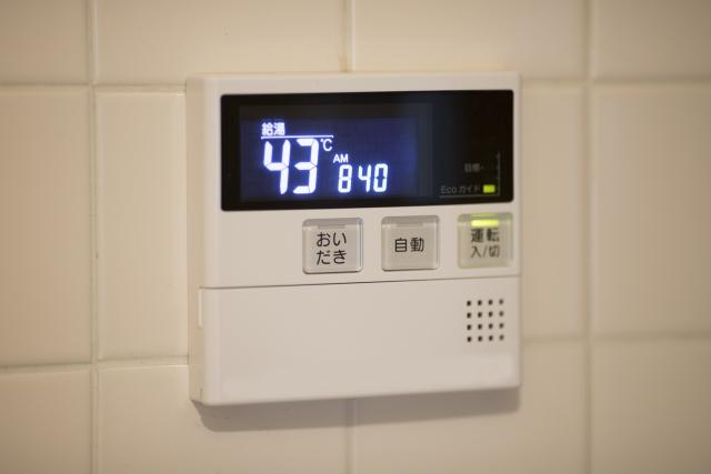 給湯器のエラーコード